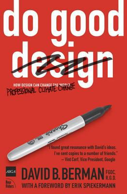 A book cover with a red background and an image of a Sharpie. The title text is white, and the word