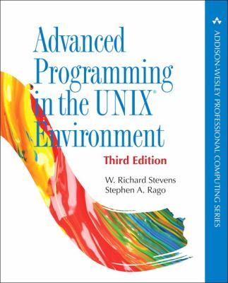 book cover: Advanced Programming in the UNIX Environment