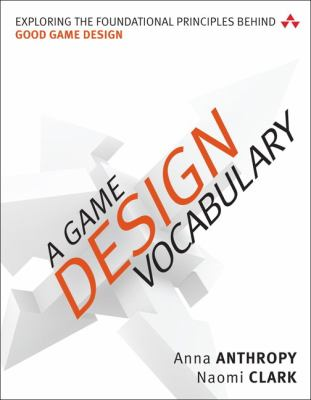 book cover: A Game Design Vocabulary