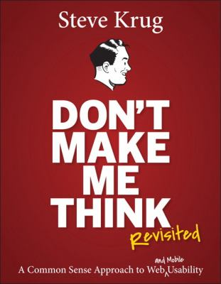 Book Cover: Don't Make Me Think by Steve Krug