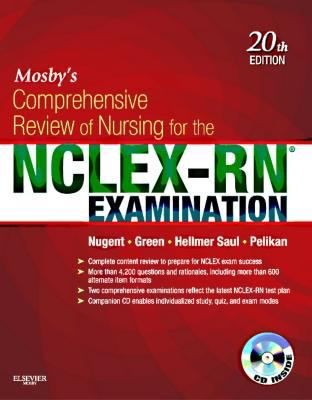 Mosby's Comprehensive Review of Nursing for the NCLEX-RN® Examination (20th ed.)