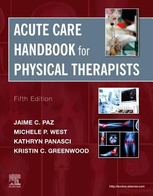 Acute care handbook for physical therapists cover and link