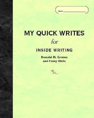 Cover for My Quick Writes