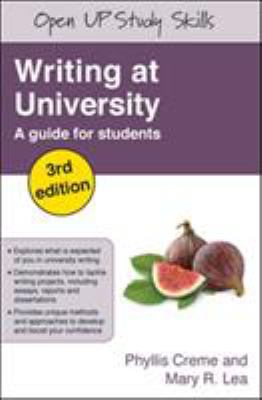 Writing at university: a guide for students book cover