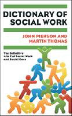 Book jacket for Dictionary of Social Work