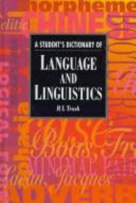 Cover Art for A Student's Dictionary of Language and Linguistics