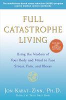 Full catastrophe book cover