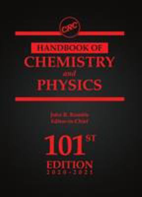 Cover Image: CRC Handbook of Chemistry and Physics