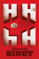 Book cover for HHhH by Laurent Binet