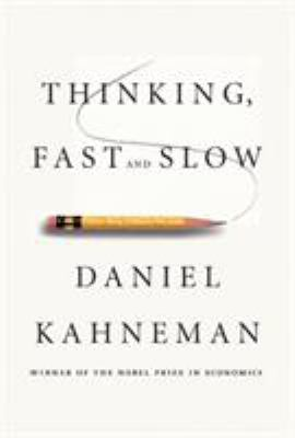 Cover of book, Thinking Fast and Slow.
