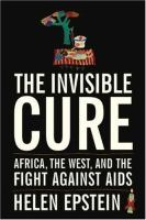 Book cover for The Invisible Cure