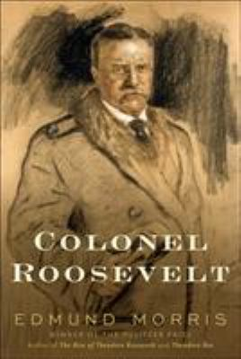 book cover for Colonel Roosevelt