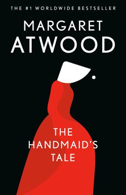 Book cover for The handmaid's tale.