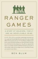 Ranger Games book cover