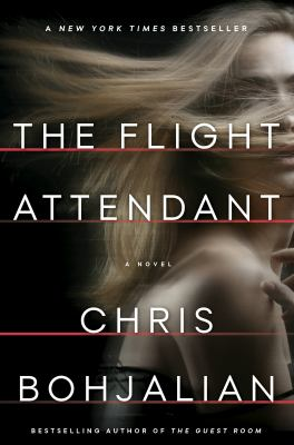 Book cover for The flight attendant.