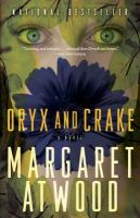 Book cover for Oryx and Crake by Margaret Atwood