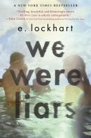 Book cover for We Were Liars by E. Lockhart
