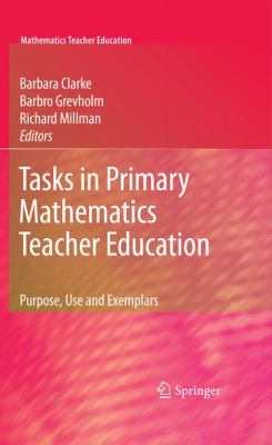 book cover: Tasks in Primary Mathematics Teacher Education