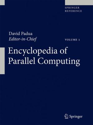 book cover: Encyclopedia of Parallel Computing