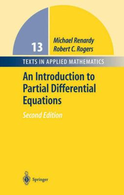 book cover - An Introduction to Partial Differential Equations
