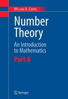 book covers: Number Theory: an introduction to mathematics  (2 volumes)