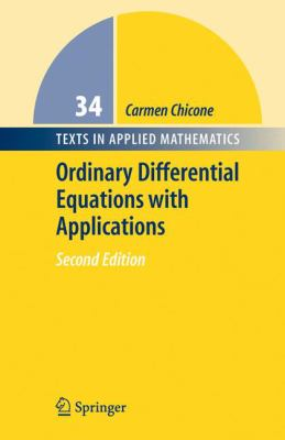book cover: Ordinary Differential Equations with Applications