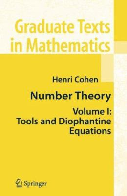 book covers: Number Theory (2 volumes)