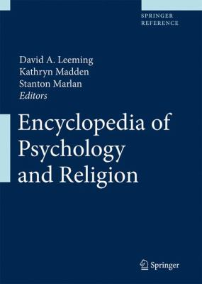 cover of Encyclopedia of Psychology and Religion