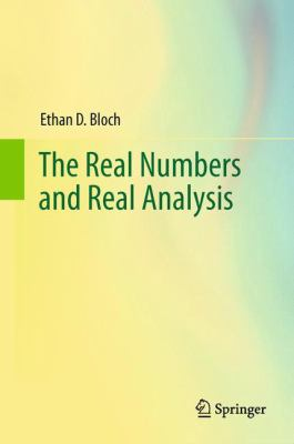 book cover: Real Numbers and Real Analysis
