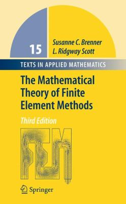 book cover:  The Mathematical Theory of Finite Element Methods