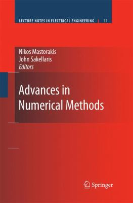 book cover: Advances in Numerical Methods