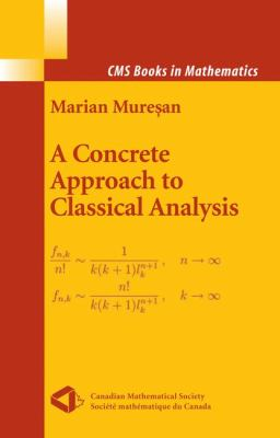 book cover: A Concrete Approach to Classical Analysis