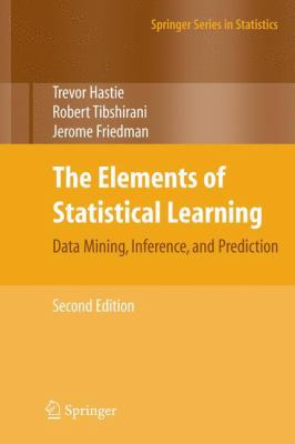 book cover: The Elements of Statistical Learning