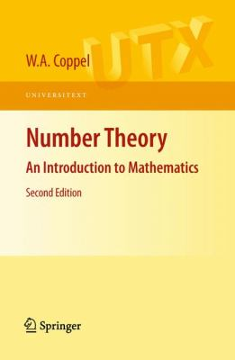 book covers: Number Theory: an introduction to mathematics