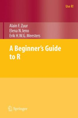 Book cover: A Beginner's Guide to R