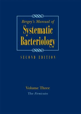 Book cover for Bergey's manual of systematic bacteriology.