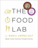 Book cover for The Food Lab