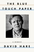 Cover image for The blue touch paper : a memoir