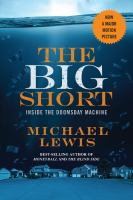 Book cover for The Big Short by Michael Lewis