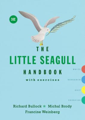 The Little Seagull Handbook, cover art.
