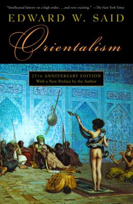 book cover for orientalism