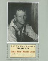 """""""Let Us Now Praise Famous Men"""" Book Cover"""
