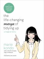 Life changing manga of tidying up book cover