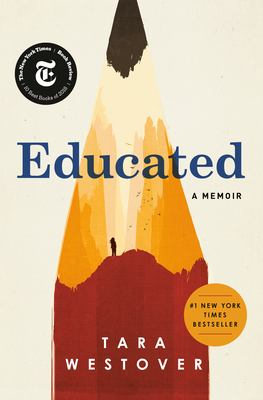 Book cover for Educated.