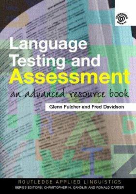 book cover of Language Testing and Assessment