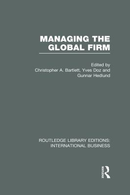 Book jacket for Managing the Global Firm