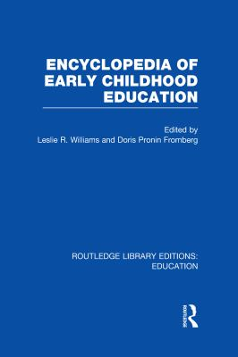 Book jacket for Encyclopedia of Early Childhood Education