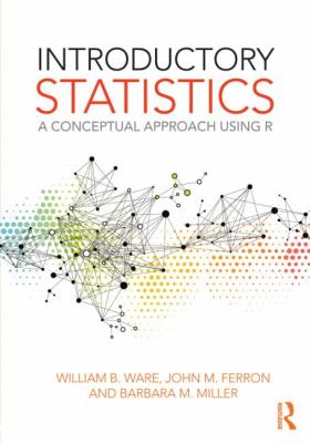 Book cover: Introductory Statistics: a conceptual approach using R
