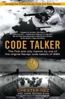 Code Talker book cover