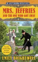 Mrs. Jeffries and the one who got away book cover